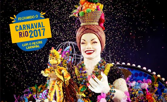 Carro alegório da Paraíso do Tuiuti que se acidentou no Carnaval Rio 2017